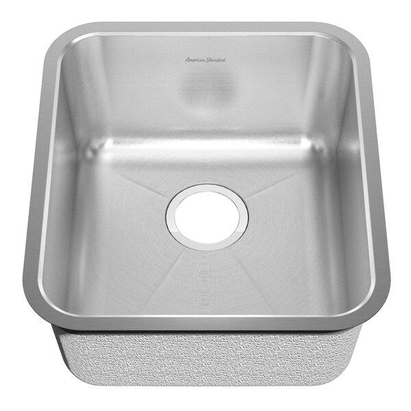 20 L x 14.25 W Undermount Single Bowl Kitchen Sink by American Standard