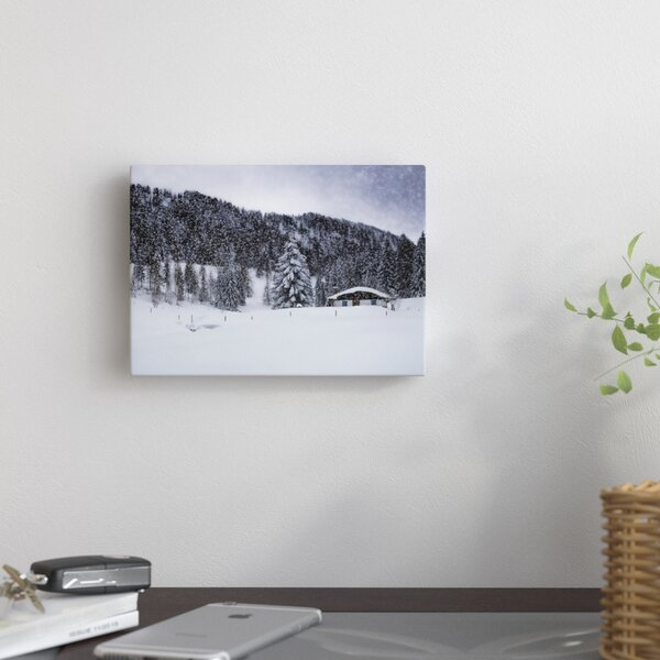 Germany Bavarian Winters Tale VIII Photographic Print on Wrapped Canvas by East Urban Home