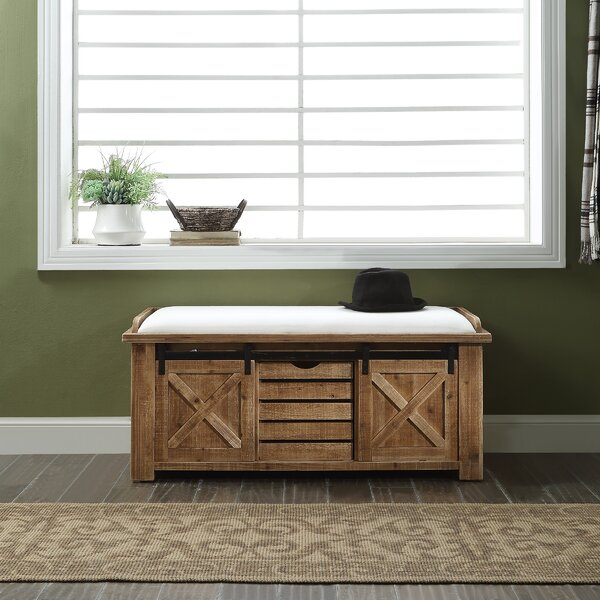 Djanira Storage Bench by Gracie Oaks Gracie Oaks
