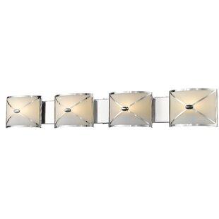 Best Mericle 4-Light Vanity Light By House of Hampton