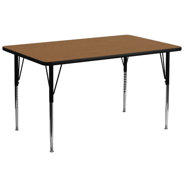 72 x 30 Rectangular Activity Table by Flash Furnit