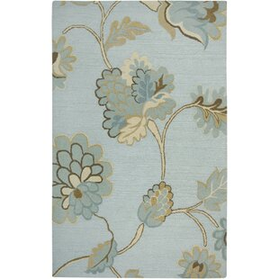 Dimension Hand-Tufted Wool Light Blue Area Rug by Rizzy Home