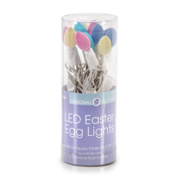 Easter Egg 20 Light String Lights by The Holiday Aisle