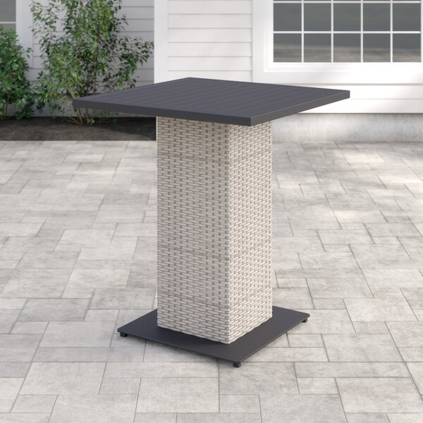 Romford Wicker Bar Table by Sol 72 Outdoor