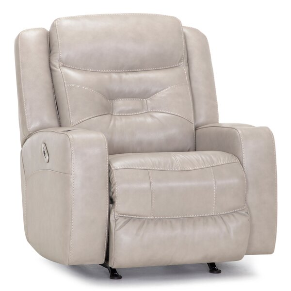 Sonora Leather Power Rocker Recliner W002196930