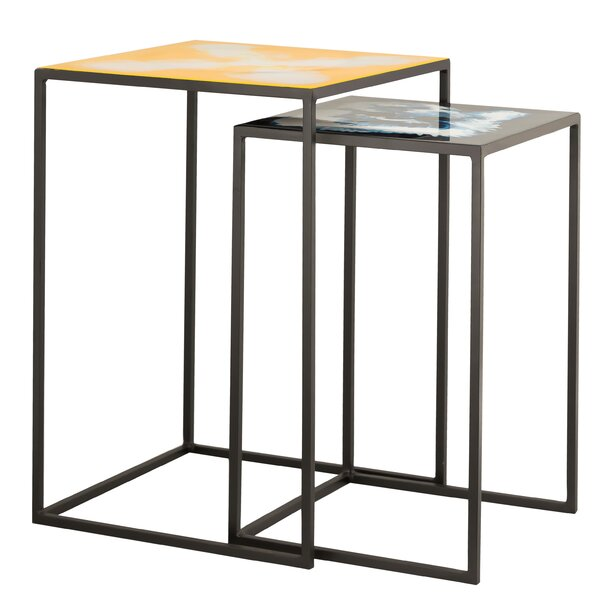 Alassane 2 Piece Nesting Tables By Wrought Studio