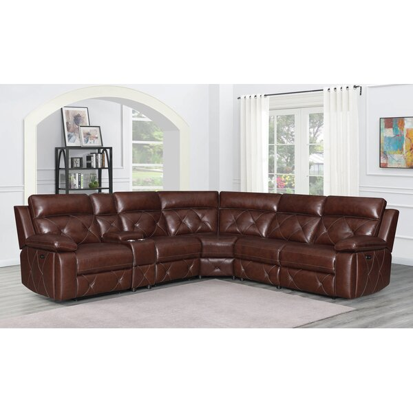 Leer Reversible Reclining Sectional By Red Barrel Studio