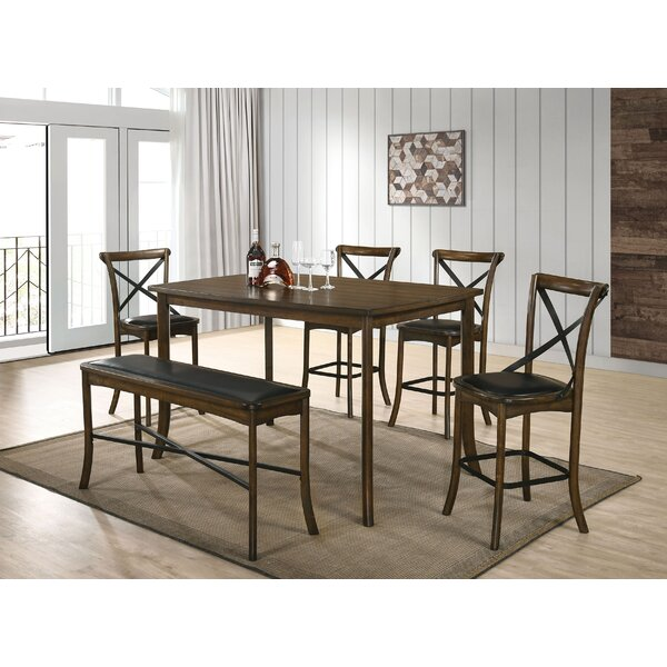 Terrence 6 Piece Counter Height Dining Set by Gracie Oaks Gracie Oaks