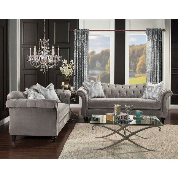 Lonergan 2 Piece Living Room Set by Rosdorf Park