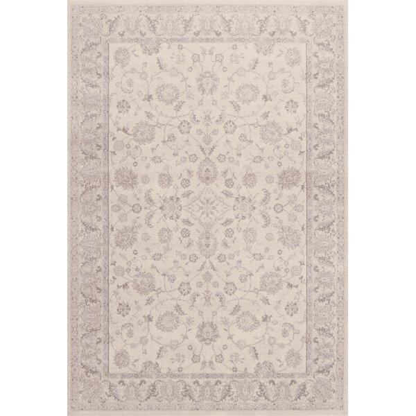 Alden Cream Area Rug by Charlton Home