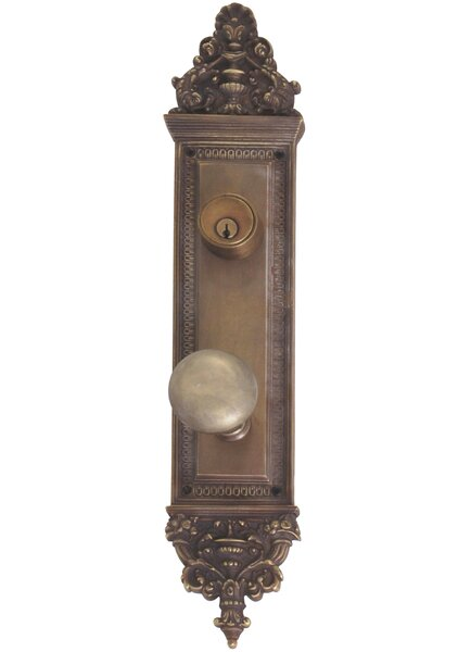 Renaissance Apollo Single Cylinder Handlaeset with Knob by BRASS Accents