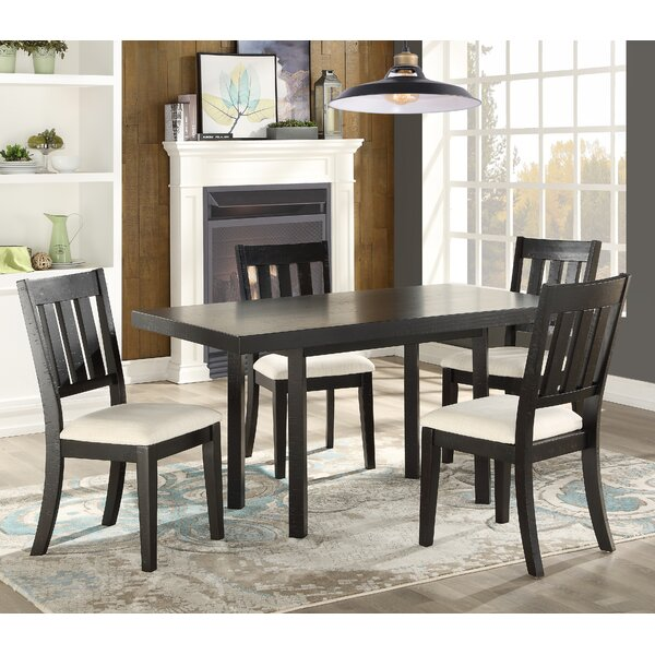 Zeke 5 Piece Dining Set by Rosalind Wheeler