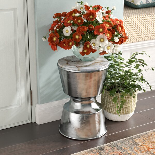 Chisley End Table by Bungalow Rose