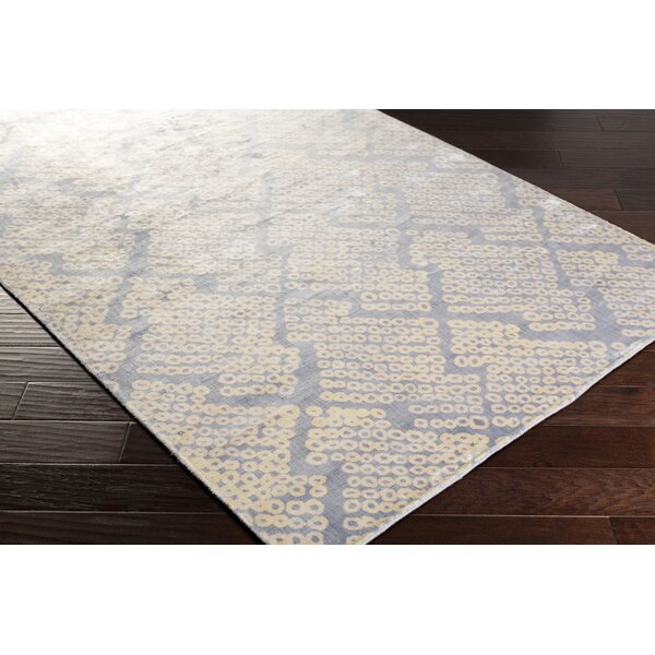Villa Court Hand-Loomed Blue Area Rug by Corrigan Studio