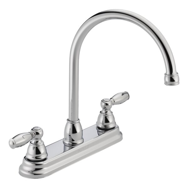 Apex Double Handle Kitchen Faucet by Peerless Faucets