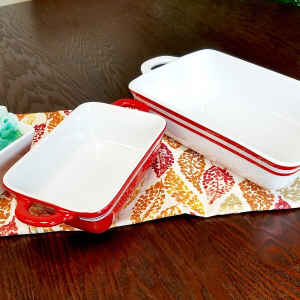 Just Dine 2 Piece Baking Dish Set by Gibson