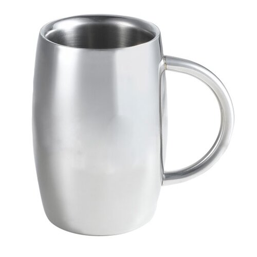 Emerald Beer Glass 14 oz. Stainless Steel by Visol Products