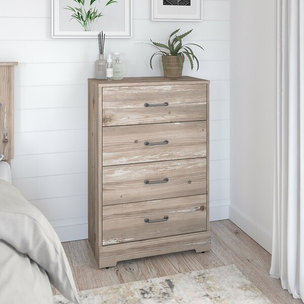River Brook 4 Drawer Chest by Kathy Ireland Home by Bush Furniture