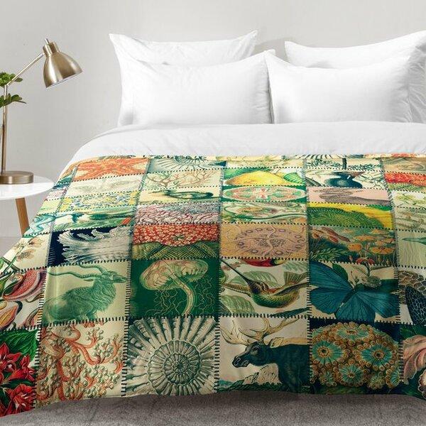 Wonderful World Patchwork Comforter Set
