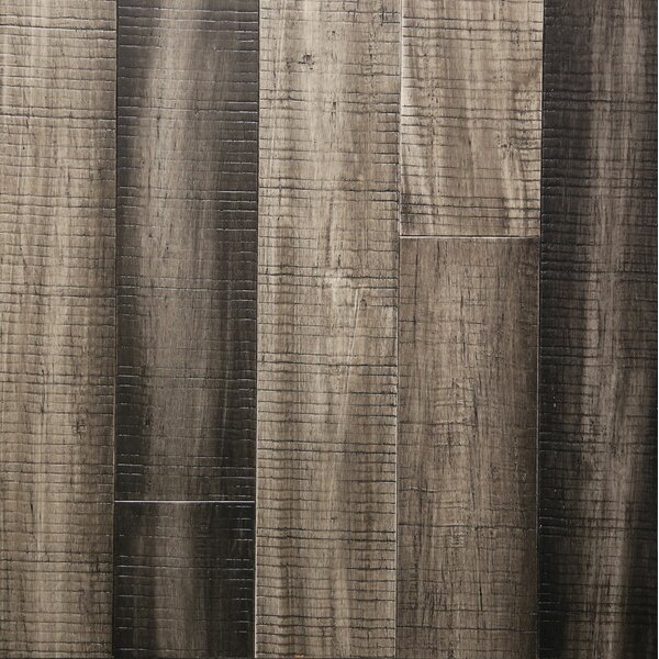 5 Engineered Bamboo Flooring in Dovetail Gray by Islander Flooring