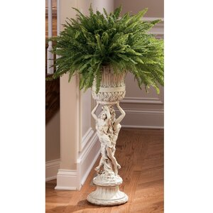 Blumensäule Neoclassical von Design Toscano