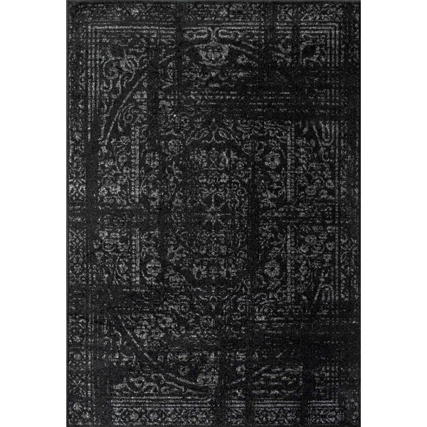 Wilmes Black Area Rug by Trent Austin Design