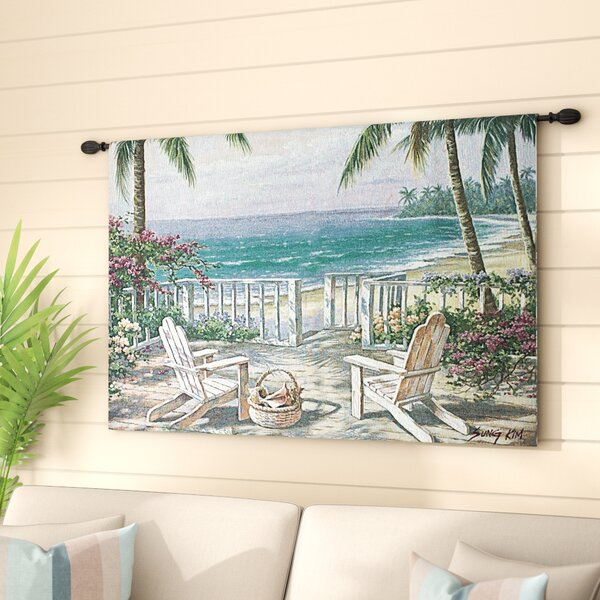 Coastal View Tapestry by Highland Dunes