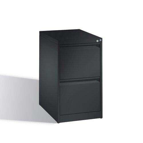 Aktencontainer Gatling mit 2 Schubladen Ebern Designs Farbe: Anthrazit | Büro > Büroschränke > Container | Ebern Designs