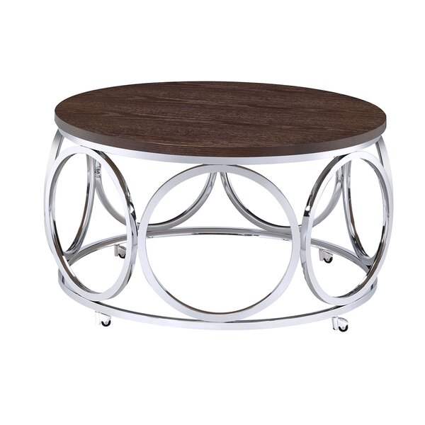 Gahanna Round Coffee Table By Ivy Bronx
