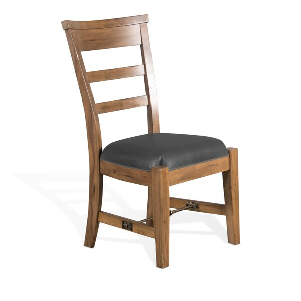 Meadow Solid Wood Dining Chair by Loon Peak