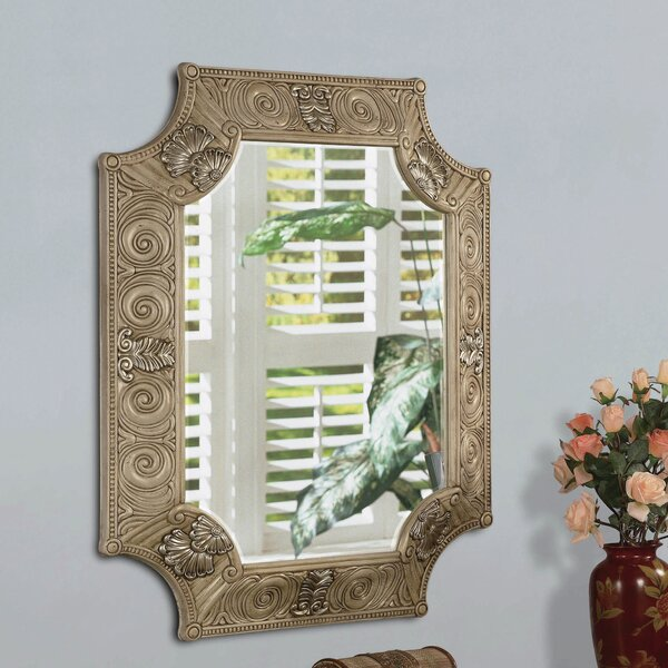 Manton Traditional Wall Mirror by Astoria Grand