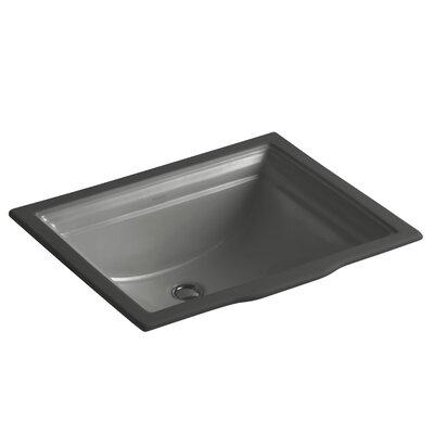 Undermount Sink Overflow Sink Thunder Grey photo