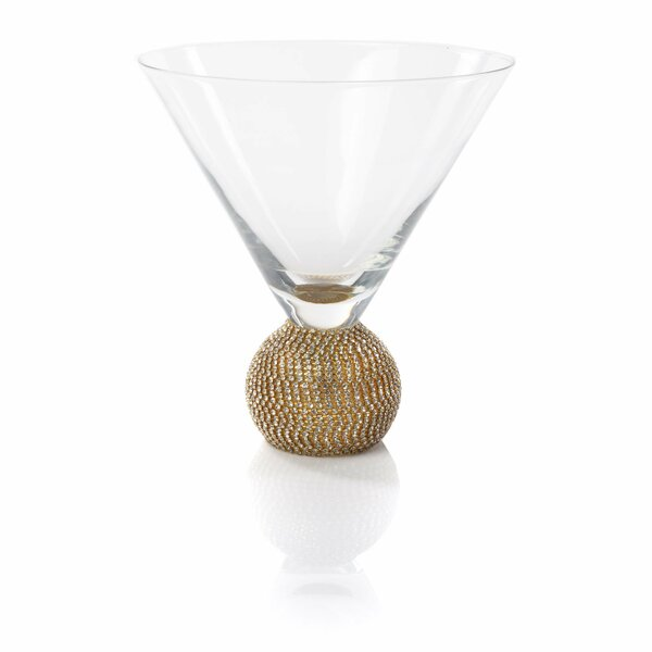 Achille 6 oz. Martini Glass (Set of 4) by Rosdorf Park