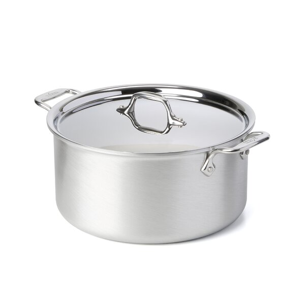 Master Chef 2 8 Qt. Stock Pot by All-Clad