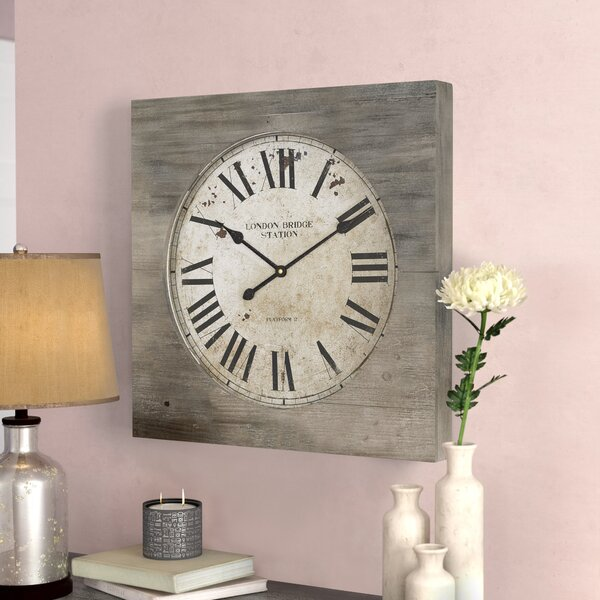 Bilel Wall Clock by Lark Manor