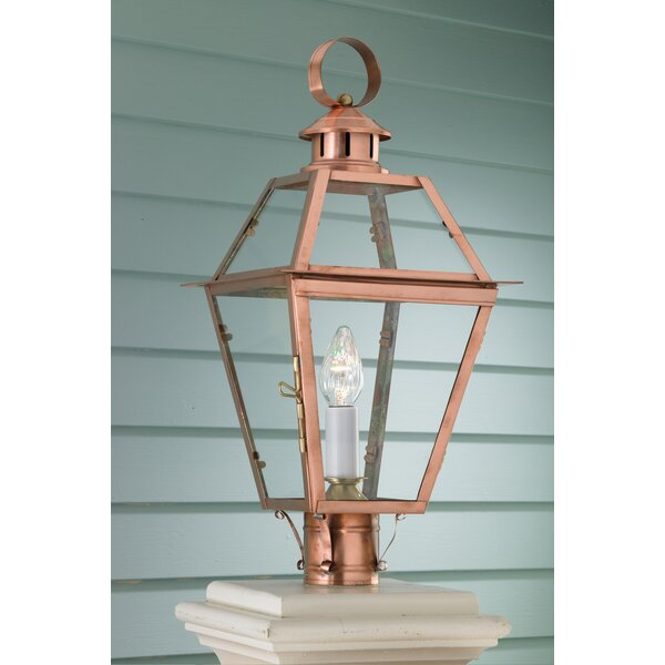 Ximena Outdoor 1-Light Lantern Head by Breakwater Bay