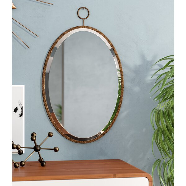 Rustic Bronze Wall Mirror by Corrigan Studio