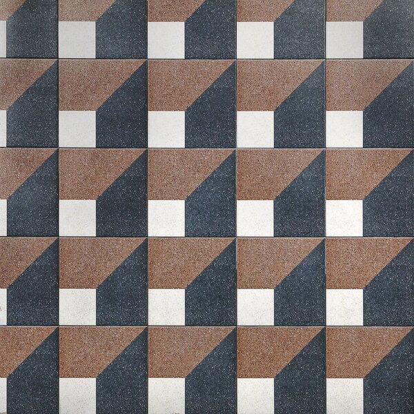 Branwell 9 x 9 Porcelain Field Tile in Icart by Splashback Tile