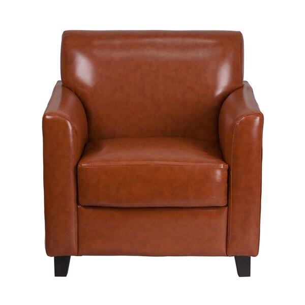 Kumail Cognac Lounge Chair by Winston Porter Winston Porter