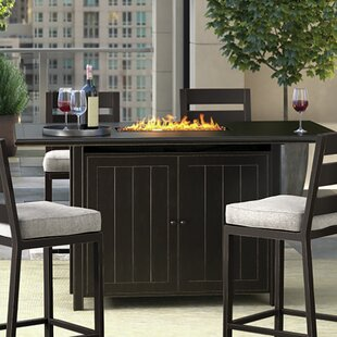 Superior Beringer Aluminum Propane Fire Pit Table