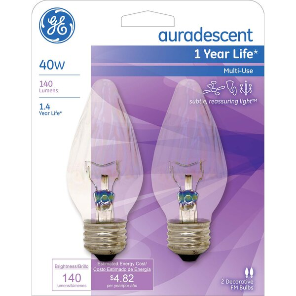 40W Incandescent Light Bulb by GE Lighting