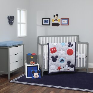 Compare prices Disney Amazing Mickey Mouse 3 Piece Crib Bedding Set By Carter's®