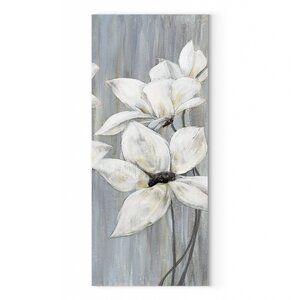 'Silver Spring II' Oil Painting Print on Wrapped Canvas by Red Barrel Studio