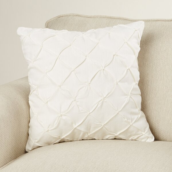 Alda Pintucked Pillow Cover by Birch Lane™