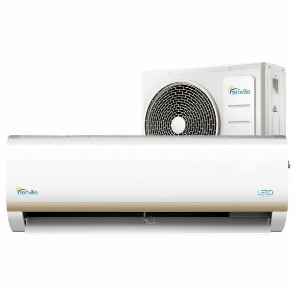 Leto 9,000 BTU Ductless Mini Split Air Conditioner with Remote by Senville