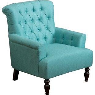 Amazing Tufted Teal Chair | Wayfair