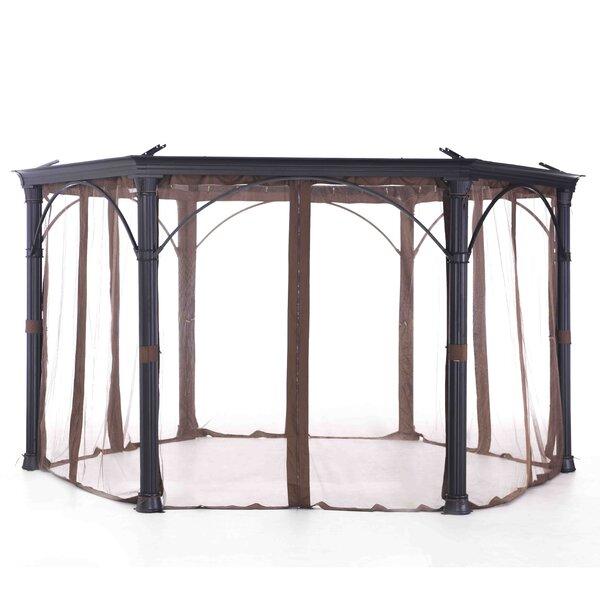Universal Netting for Round Gazebo by Sunjoy