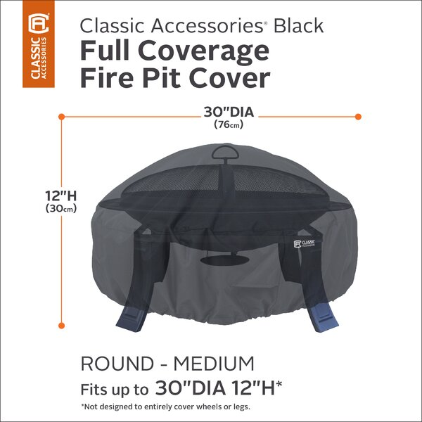 Classic Fire Pit Cover by Classic Accessories
