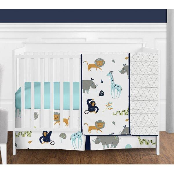 Mod Jungle 4 Piece Crib Bedding Set by Sweet Jojo Designs