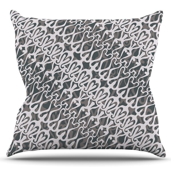 Lace by Miranda Mol Outdoor Throw Pillow by East Urban Home